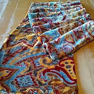 Nordstrom panne velvet high luster scarf
